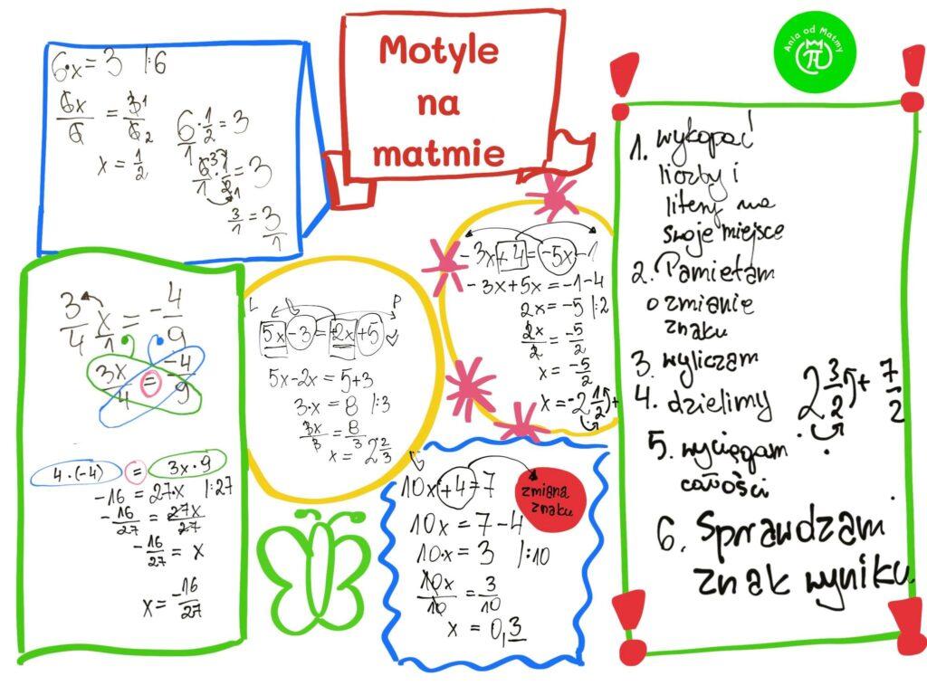 Matematyka w klasie 7b